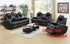 Reclining Power Sofa Set Sofa & Loveseat 2P Adjustable Headrests Living Room Set