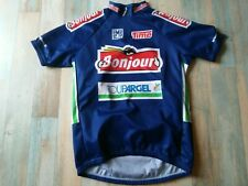 MAILLOT CYCLISTE VELO SMS SANTINI BONJOUR TIME TAILLE XL/5 TBE