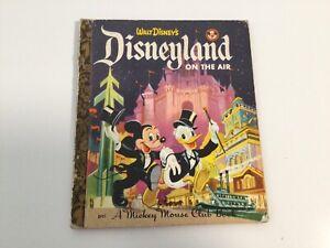 Vintage Little Golden Book Disneyland On Air EC