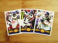 2012 Topps Minnesota Vikings TEAM SET