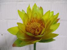 deko blumen k nstliche pflanzen mit seerose aus kunststoff g nstig kaufen ebay. Black Bedroom Furniture Sets. Home Design Ideas