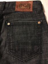 Bebe Women's Jeans Premium Denim Luxurious Boot Cut Stretch Size 26 X 34