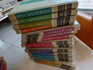 ENCICLOPEDIA I QUINDICI libri del come e perché 1967 completa COMPLETA 15 volumi