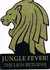 JUNGLE FEVER Rave Flyer 6/5/94 A4 The Roller Express Edmonton London N19