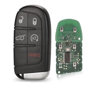 5 Button Remote Car Key Jeep Grand Cherokee 2014-2018 M3N-40821302 433MHz FOB
