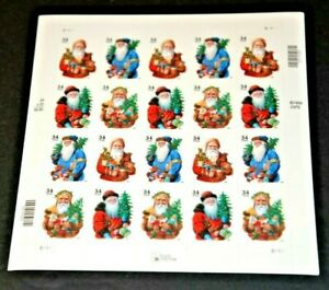 CatalinaStamps: US Stamp #3540d MNH Sheet, Santa Claus, SCV=$18, #B14