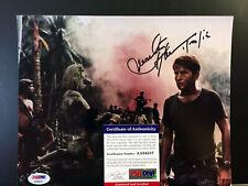 Martin Sheen 2 Signed 8x10 Photo Psa/Dna Coa Apocalypse Now Rare