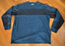 The Territory Ahead Men's Crewneck Pullover Shirt Xl 100% Cotton Green Black