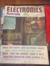 Electronics Australia And Hifi Magazine March 1976