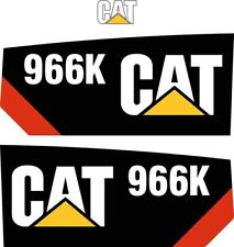 Decal Sticker Set CAT 966K Loading Shovel Decal Set