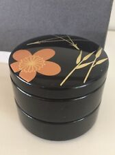 Jewellery / Trinket Box  Double Stacked New In box Black