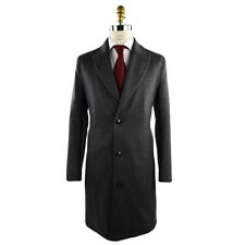 NEW FW 19/20 KITON OVERCOAT 100% CASHMERE AND WEASEL FUR SIZE 42 US 52 EU 20WO1