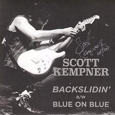 Scott Kempner 2017 vinyl single Backslidin' w/5 song cd EP Del Lords Signed