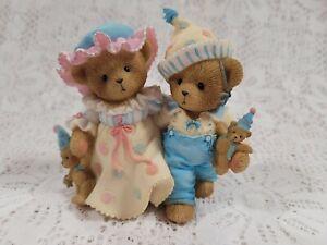 Cherished Teddies Birthday Party Club Exclusive Jean & Hubert 4012928