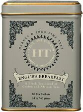 English Breakfast Black Tea by Harney & Sons, 20 sachet tin 1 pack