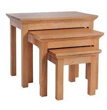 Argos Oak Nested Tables
