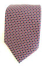 Ralph Lauren Men's 100% Silk Neck Tie, Hand Finished; USA  Red White Blue NWOT
