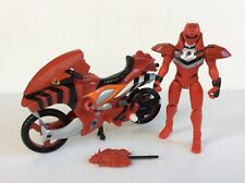 POWER RANGERS JUNGLE FURY RED TIGER STRIKE RIDER Vehicle COMPLETE, Bandai 2007