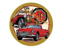 MG MGB MGTC LARGE 240mm DIA STICKER