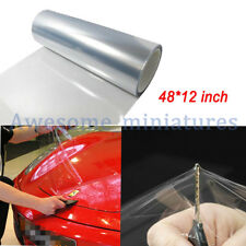 Clear transparent Headlight Bumper Hood Paint Protection Film Vinyl Sheet Decal