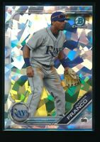 WANDER FRANCO 2019 Bowman Chrome Draft SAPPHIRE Cracked Ice Atomic REFRACTOR RC