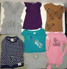Lot of 7 Womens/Juniors Shirts Size XS Old Navy, American Eagle, Legacy