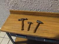 Hammer-Set für Kfz. Werkstatt , Automodellbau-Zubehör, Maßstab 1:18