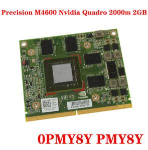 FOR DELL Precision M4600 Nvidia Quadro 2000m 2GB Video Graphics Card 0PMY8Y
