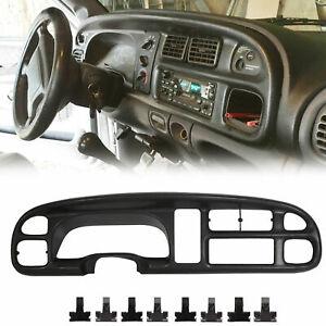 For 1998-2001 Dodge Ram 1500 2500 3500 Instrument Panel Dash Gauge Bezel