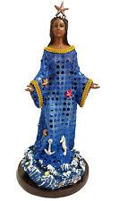 12 Inch Statue Orisha Yemaya Virgen De La Regla Yoruba Estatua Blue African