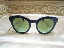 NWT Authentic Tory Burch TY9044 Navy Blue Green Lens Sunglasses