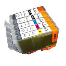 5 PK INK NON-OEM CANON PGI-5 CLI-8 MP530 MP600 MP800 MP810 MP960 MP970 MX850