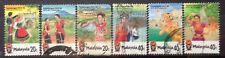 Malaysia Used Stamps - 6 pcs 1986 Pacific Area Travel Association conference