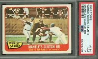 1965 Topps #134 World Series Game 3 - Mickey Mantle PSA 7 - 48793709 - (SCA)