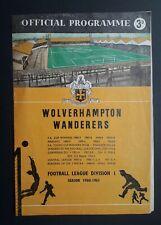 More details for wolverhampton wanderers v glasgow rangers - ecwc semi final, 2ng leg 1960 - 1961