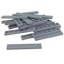 20 NEW LEGO Tile 1 x 8 BRICKS Light Bluish Gray