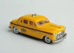 TT scale (1:120) model of the American car 1949 Dodge Meadowbrook taxicab