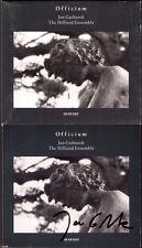 Jan GARBAREK Signiert OFFICIUM The Hilliard Ensemble Morales Perotinus ECM CD