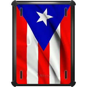 OtterBox Defender for iPad Pro / Air / Mini -  Red Whit Blue Puerto Rico Flag