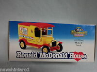 #HH. RONALD McDONALD HOUSE 1912 FORD MODEL T  DIECAST MATCHBOX VAN