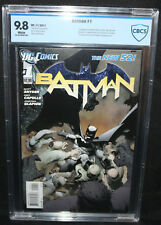 Batman #1 - 1st App of Harper Row (Bluebird) - CBCS Grade 9.8 - 2011