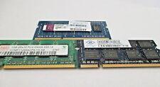 1 Kingston, 1 Hynix, and 1 Nanya  all 1GB each memory sticks; Total 3GB Sticks