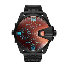 DZ7373 Uber Chief Black Stainless Steel Black Dial 62mm Quartz Chronogrph Watch
