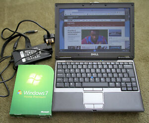 Dell Latitude D420 Laptop with Media Slice