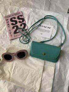 Coach 1941 Spring 2022 Originals Glovetanned Leather Sunglasses Crossbody Bag