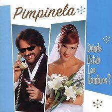 Pimpinela Donde Estan Los hombres ? CD New Nuevo Sealed