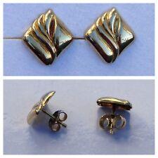 FINE ORECCHINI CHIUSURA A FARFALLA/Orecchini 333 Oro circolari in gioielli