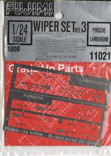 FUJIMI 11021 Set fotoincisioni Tergicristalli Porsche/Lamborghini scala 1/24