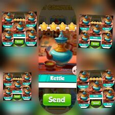 25x Kettle ### Coin Master Cards (Fastest Delivery)