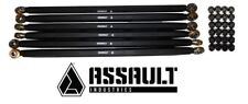 Assault Industries Turret Style Radius Rods Kit - Black 2017-2018 Can Am X3 X DS